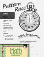 Creating Patterns - Pattern Race Activity