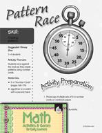 Creating Patterns - Pattern Race Activity