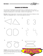 Critical Thinking Activities Geometry - Congruent, Similar, Symmetric