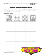 Critical Thinking Activities Geometry - Miscellaneous