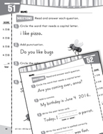 Daily Language Practice for First Grade (Week 11)