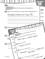 Daily Language Practice for First Grade (Week 12)