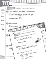 Daily Language Practice for First Grade (Week 35)