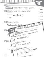 Daily Language Practice for Kindergarten (Week 10)