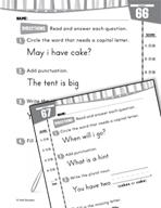 Daily Language Practice for Kindergarten (Week 14)