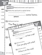 Daily Language Practice for Kindergarten (Week 17)
