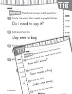 Daily Language Practice for Kindergarten (Week 24)