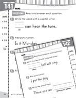 Daily Language Practice for Kindergarten (Week 29)