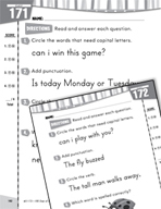 Daily Language Practice for Kindergarten (Week 35)