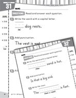 Daily Language Practice for Kindergarten (Week 7)