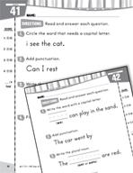 Daily Language Practice for Kindergarten (Week 9)