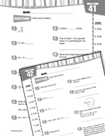Daily Math Practice for Fifth Grade (Week 9)