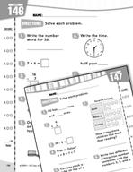 Daily Math Practice for First Grade (Week 30)