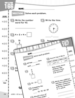 Daily Math Practice for First Grade (Week 34)
