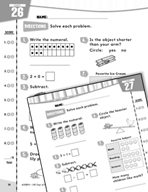 Daily Math Practice for First Grade (Week 6)