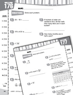 Daily Math Practice for Fourth Grade (Week 36)