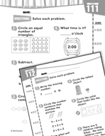 Daily Math Practice for Kindergarten (Week 23)