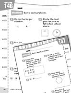 Daily Math Practice for Kindergarten (Week 30)
