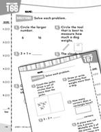 Daily Math Practice for Kindergarten (Week 34)