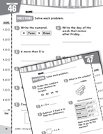 Daily Math Practice for Second Grade (Week 10)