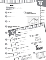 Daily Math Practice for Sixth Grade (Week 11)