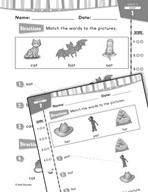 Daily Reading Practice for Kindergarten (Week 1) (180 Days