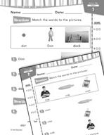 Daily Reading Practice for Kindergarten (Week 10) (180 Day