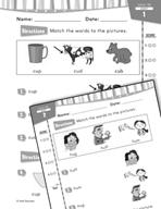 Daily Reading Practice for Kindergarten (Week 17) (180 Day