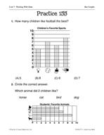 Data: Bar Graphs Practice