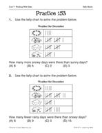 Data: Tally Marks Practice