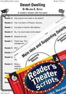 Desert Dwelling Reader's Theater Script and Lesson