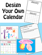 Design Your Own Calendar by Karen's Kids