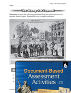 Document-Based Assessment: Causes of the American Revolution