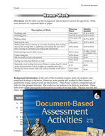 Document-Based Assessment: The Industrial Revolution