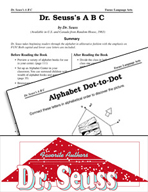 Dr. Seuss Literature Activities - Dr. Seuss's A B C