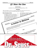 Dr. Seuss Literature Activities - If I Ran the Zoo