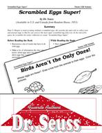 Dr. Seuss Literature Activities - Scrambled Eggs Super!