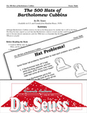 Dr. Seuss Literature Activities - The 500 Hats of Bartholo