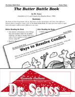Dr. Seuss Literature Activities - The Butter Battle Book