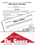 Dr. Seuss Literature Activities - The Cat in the Hat