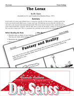 Dr. Seuss Literature Activities - The Lorax