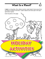 Earth Day Activities - What Is a Plant? And Food Chain Puzzle