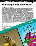 Earth Systems and Cycles Inquiry Card - Flowering Plant Reproduction