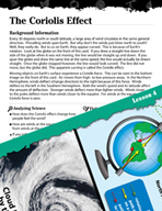 Earth Systems and Cycles Inquiry Card - The Coriolis Effect