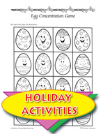 Easter Activities - Rechenka's Eggs Literature Unit