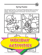 Easy Gardening for Spring  and Spring Puzzles