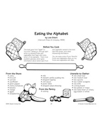 Eating the Alphabet - Fruits and Vegetables with Dips Recipe