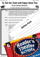 Edgar Allan Poe Reader's Theater Script and Lesson