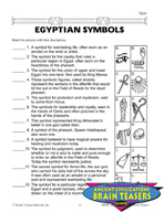 Egypt Critical Thinking Activities and Brain Teasers