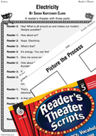 Electricity Reader's Theater Script and Lesson